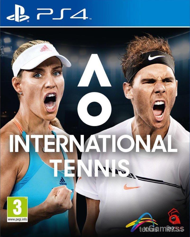 AO International Tennis -  In this game, you can play like real tennis stars