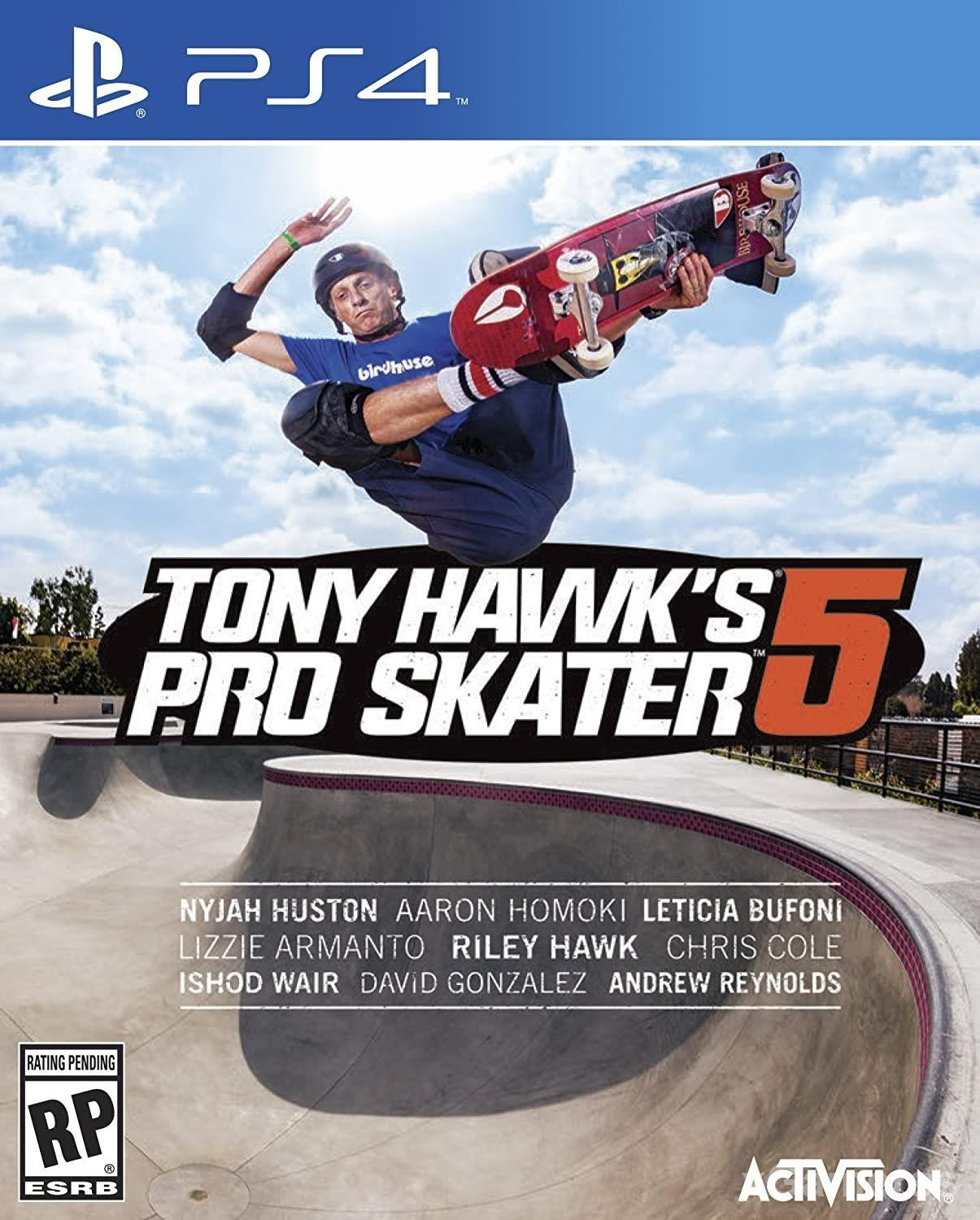 Tony Hawk s Pro Skater 5 - has incredible graphics and impressive gameplay