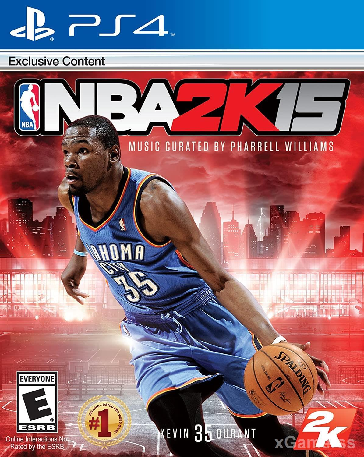 NBA 2K15 PS4 -  in this game the players maintain a very tuned and refined game mechanic during every move