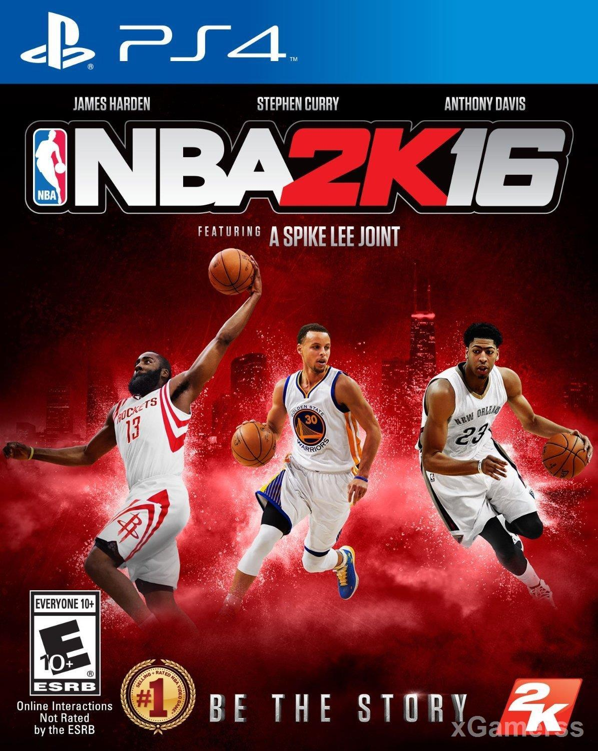 NBA 2K16 PS4 - be the story