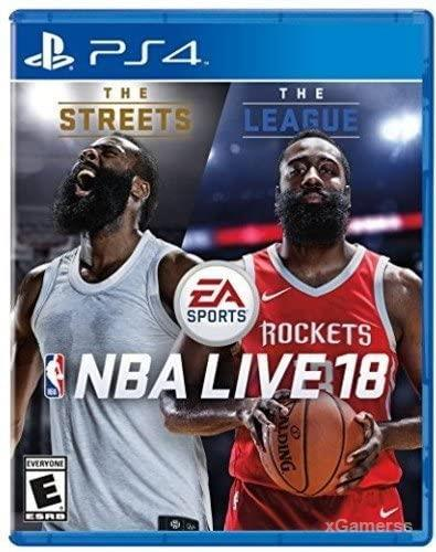 NBA Live 18 PS4 - one of the best basketball games