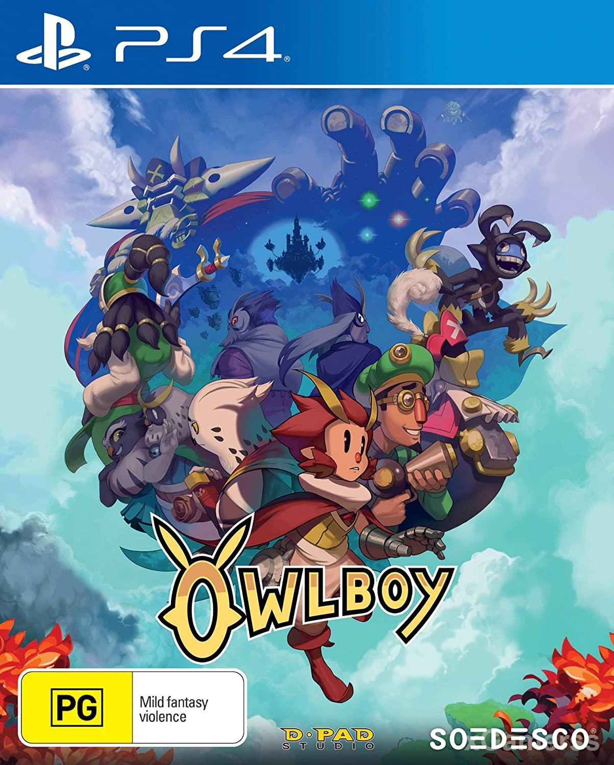 Owlboy - you will be a hybrid that is composed of half-human, and half owl