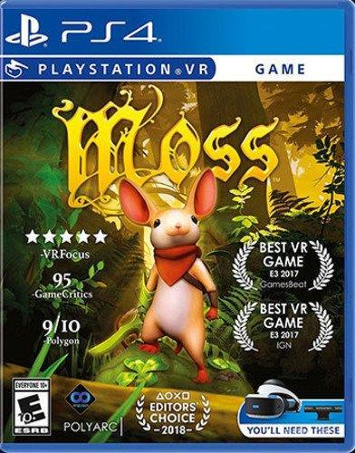 Moss - you will be a little mouse to save the kingdom