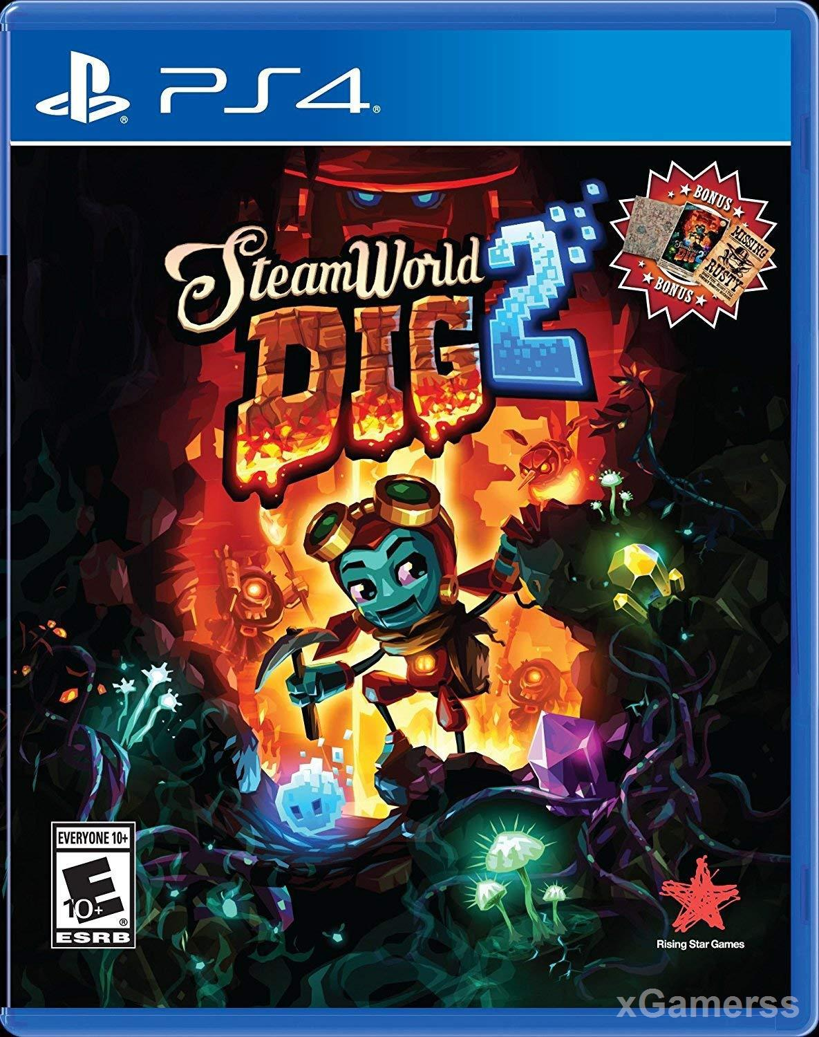 SteamWorld Dig 2 - new design and new better gameplay