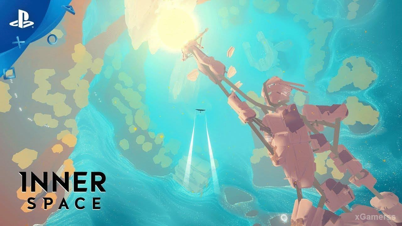 InnerSpace - Move forward and explore different planets in