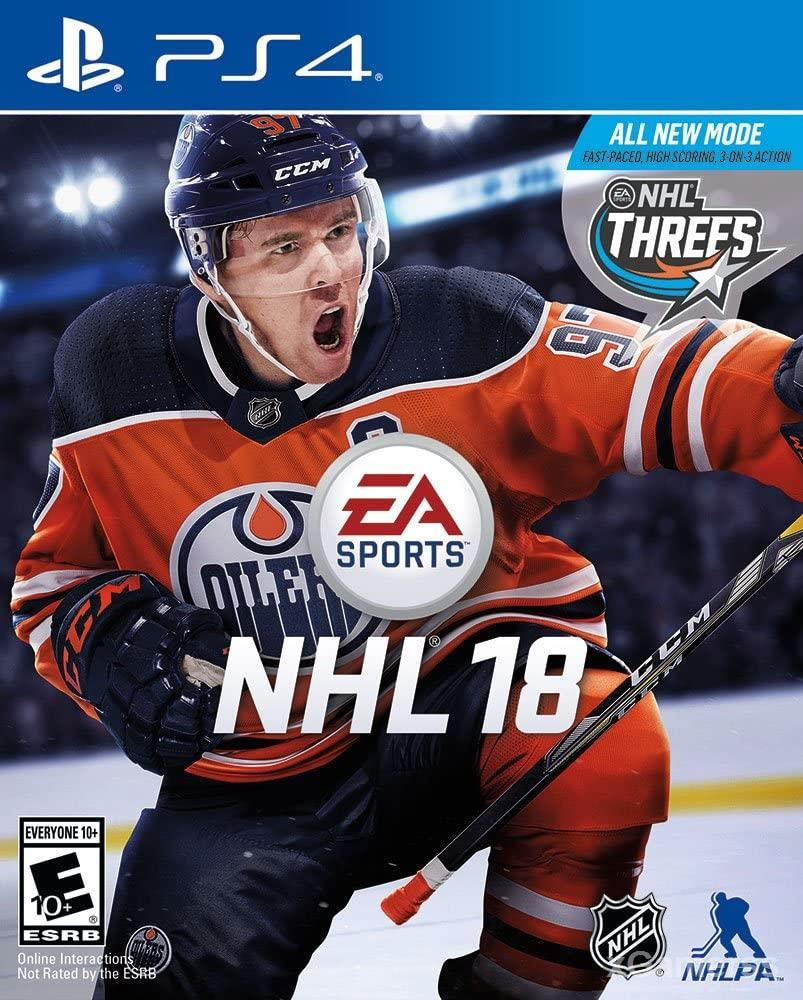 NHL 18 - one of the Best Hockey Games for PS4