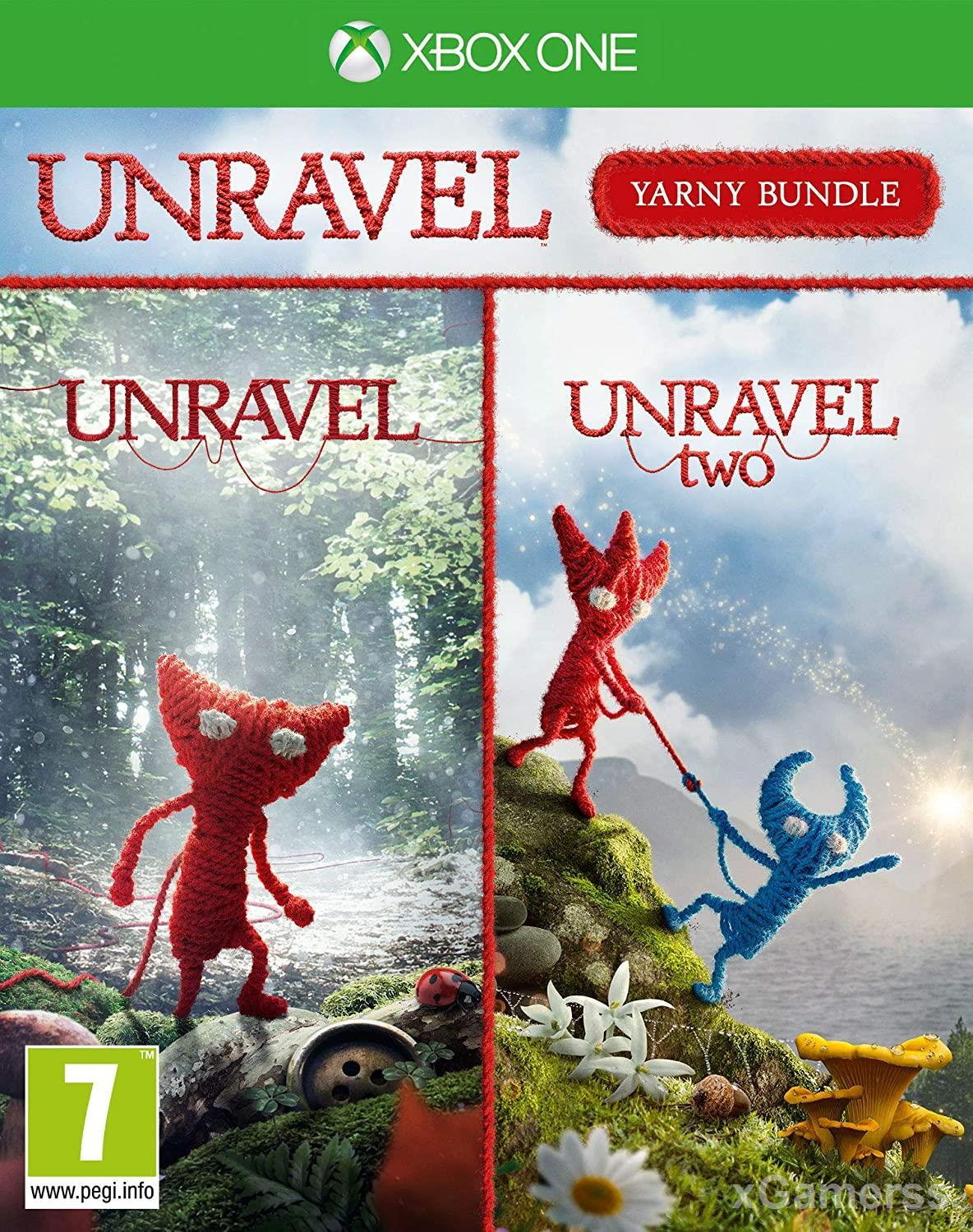 Unravel two - one of the best Coop games