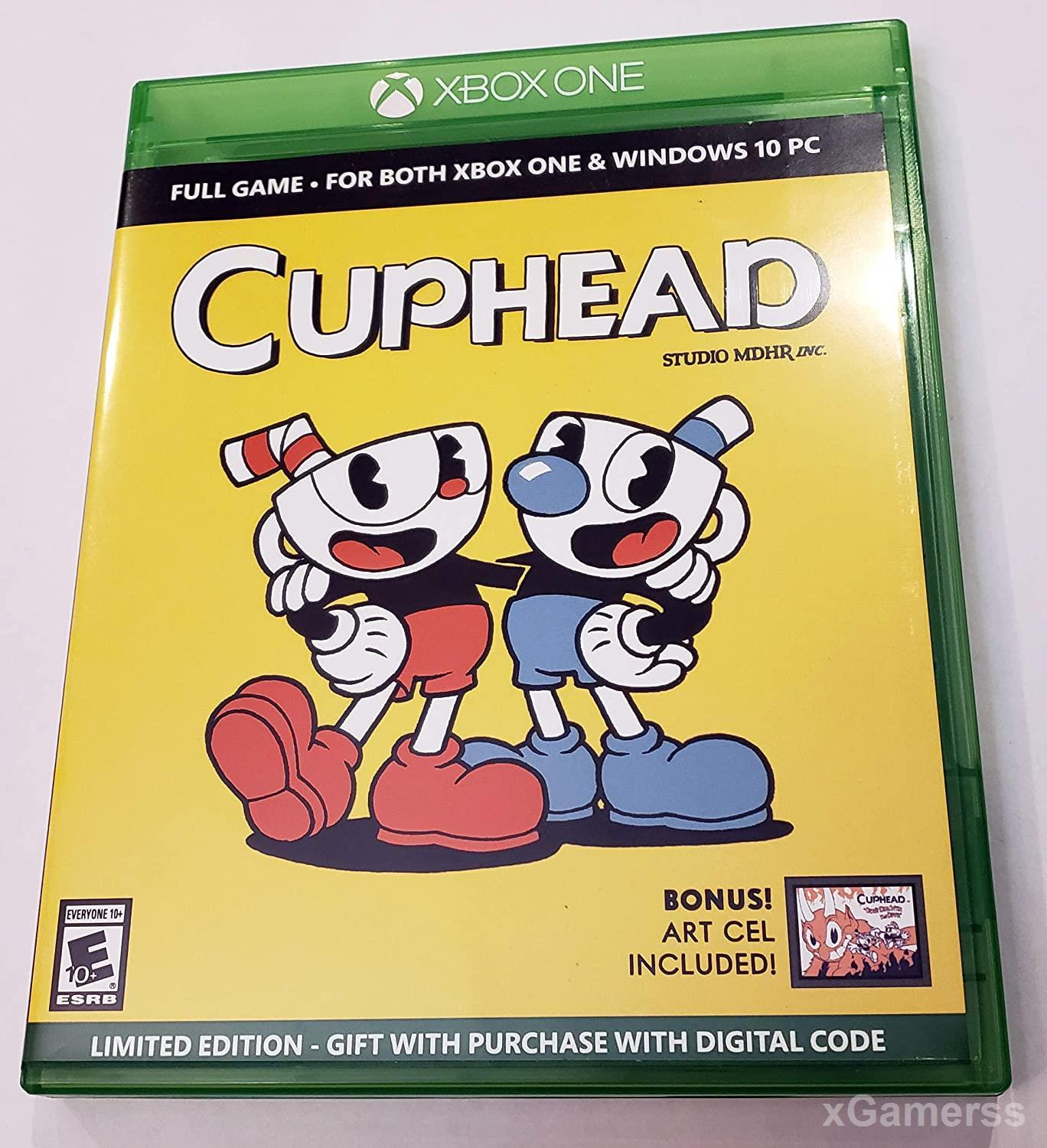 Cuphead - one of the best Coop Games for Xbox