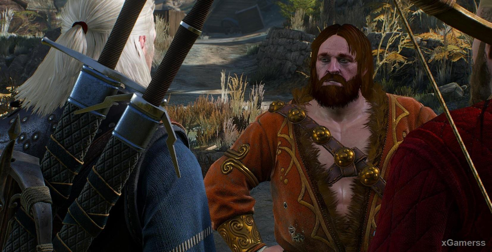 Mousesack is an old friend of Geralt, for whom Ciri is also important