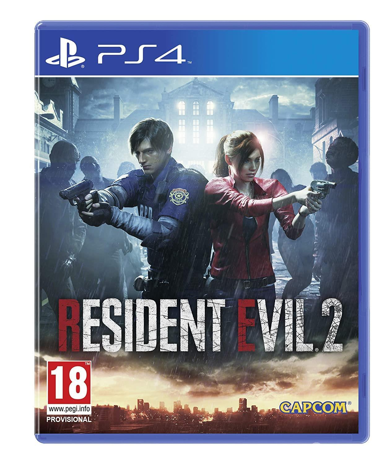 Resident Evil 2 - low horror game available to spend time with.