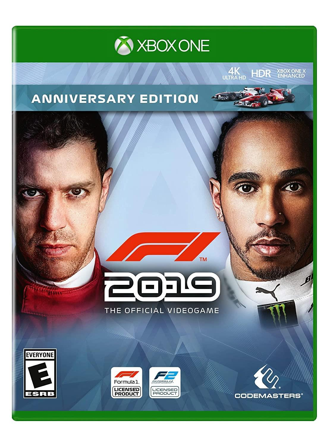 F1 2019 Anniversary Edition - one of the best Racing Games for Xbox