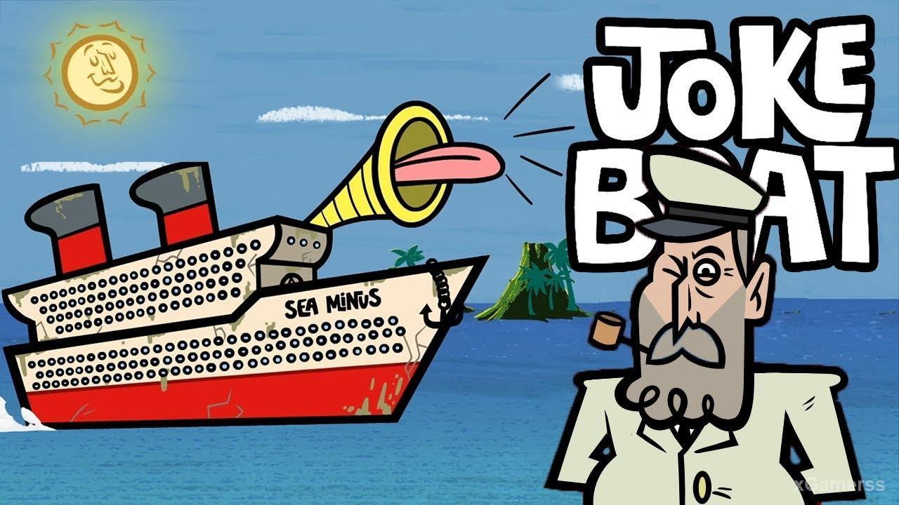 Joke Boat - one of the Best Jackbox Party Pack