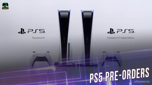 Sony will announce when the PS5 Pre-Orders go live