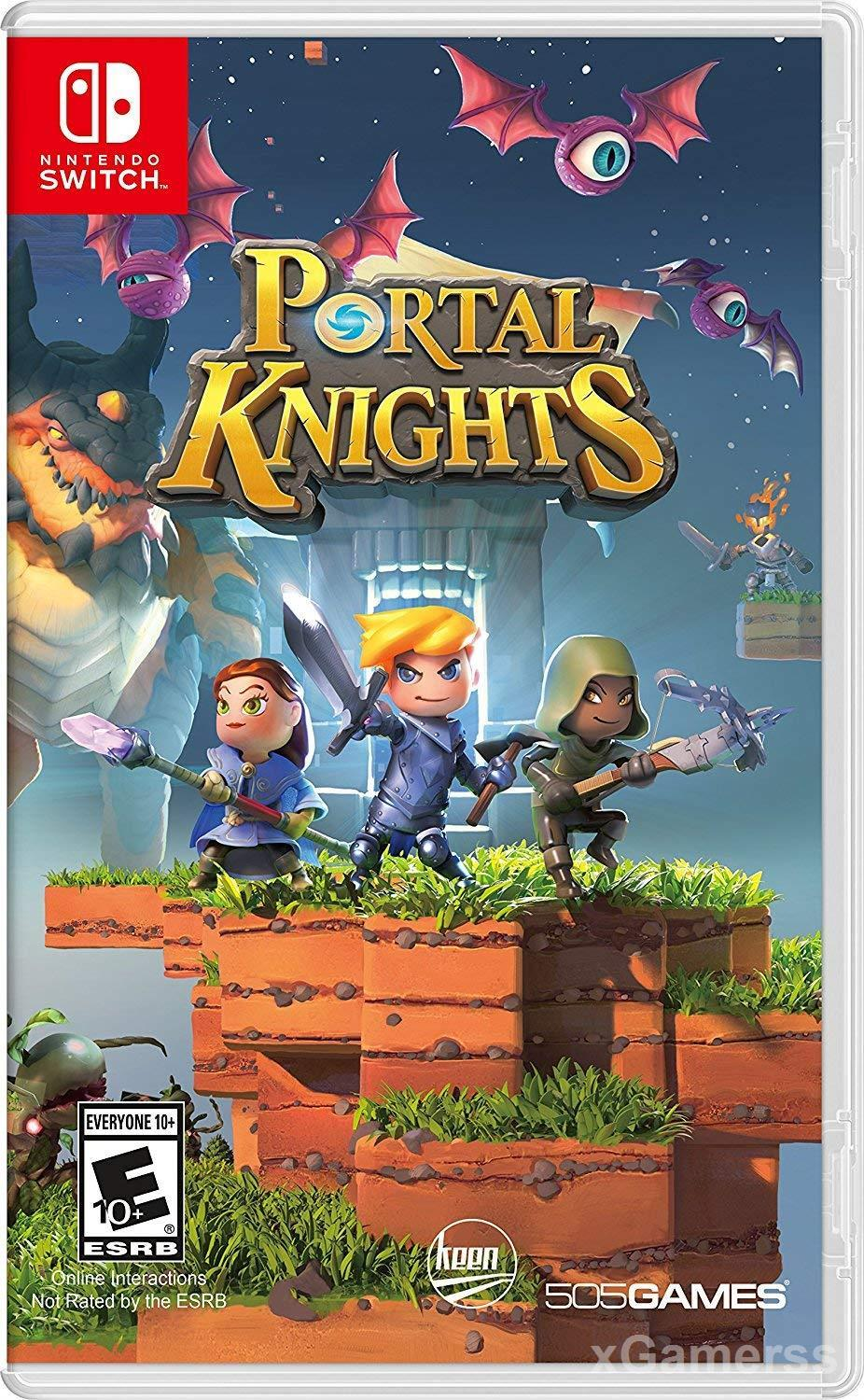 Portal Knights is a game that will help you to transform yourself into an architect