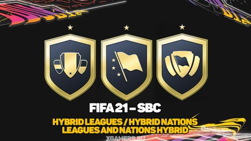 FIFA 21 – SBC Hybrid Leagues / Hybrid Nations / Leagues and Nations Hybrid