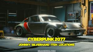 Cyberpunk 2077: Johnny Silverhand item locations | Samurai jacket | Johnny