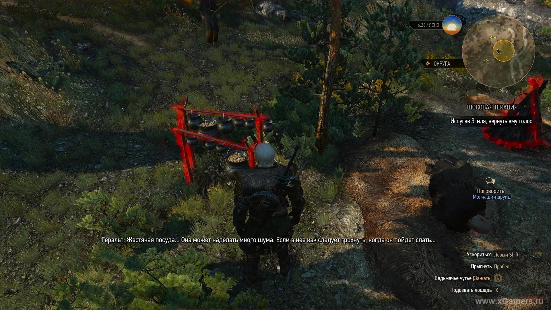 Shock Therapy The Witcher 3 - walkthrough quest