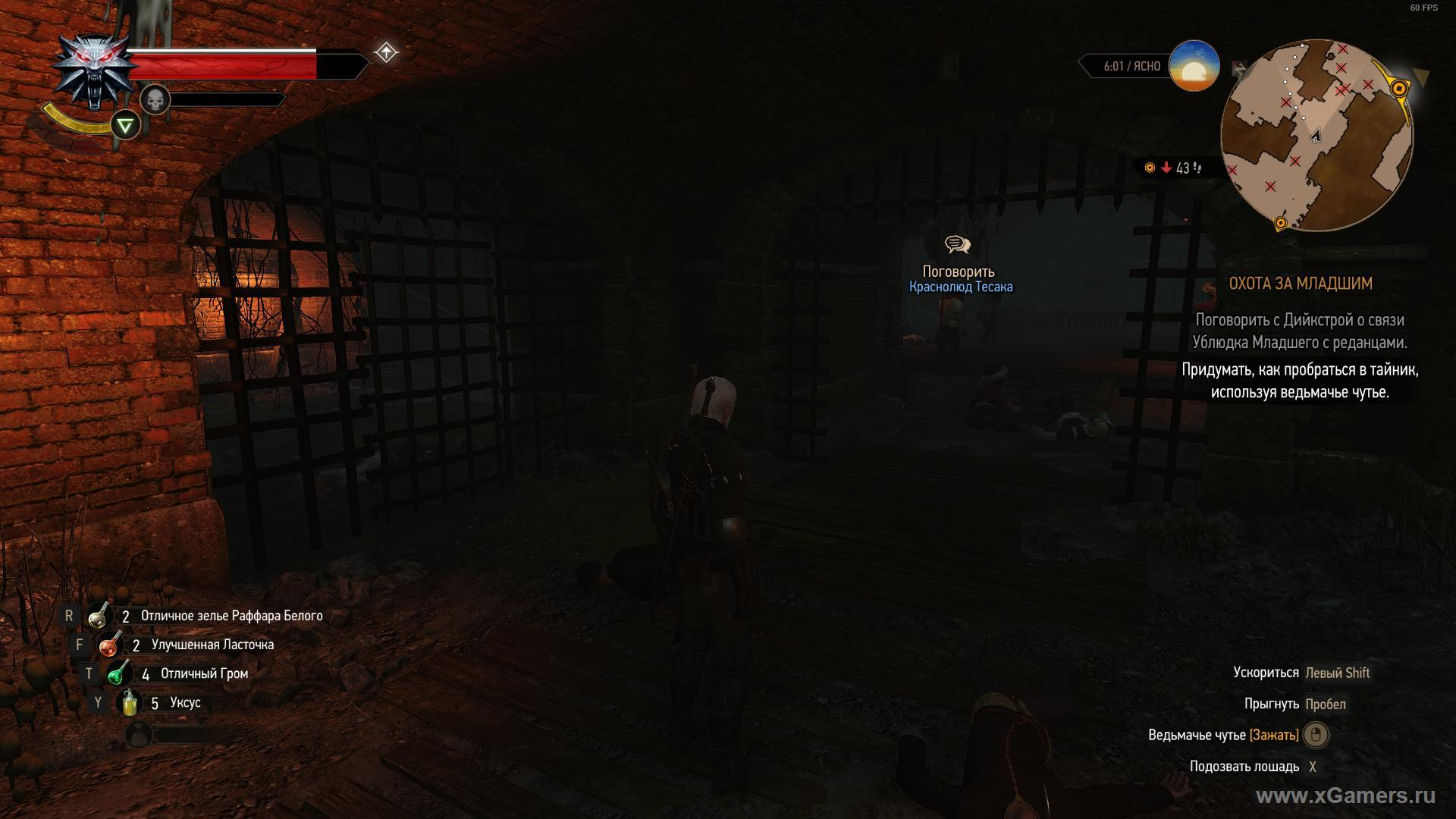 how to get into the cache of Bastard Minor in The Witcher 3