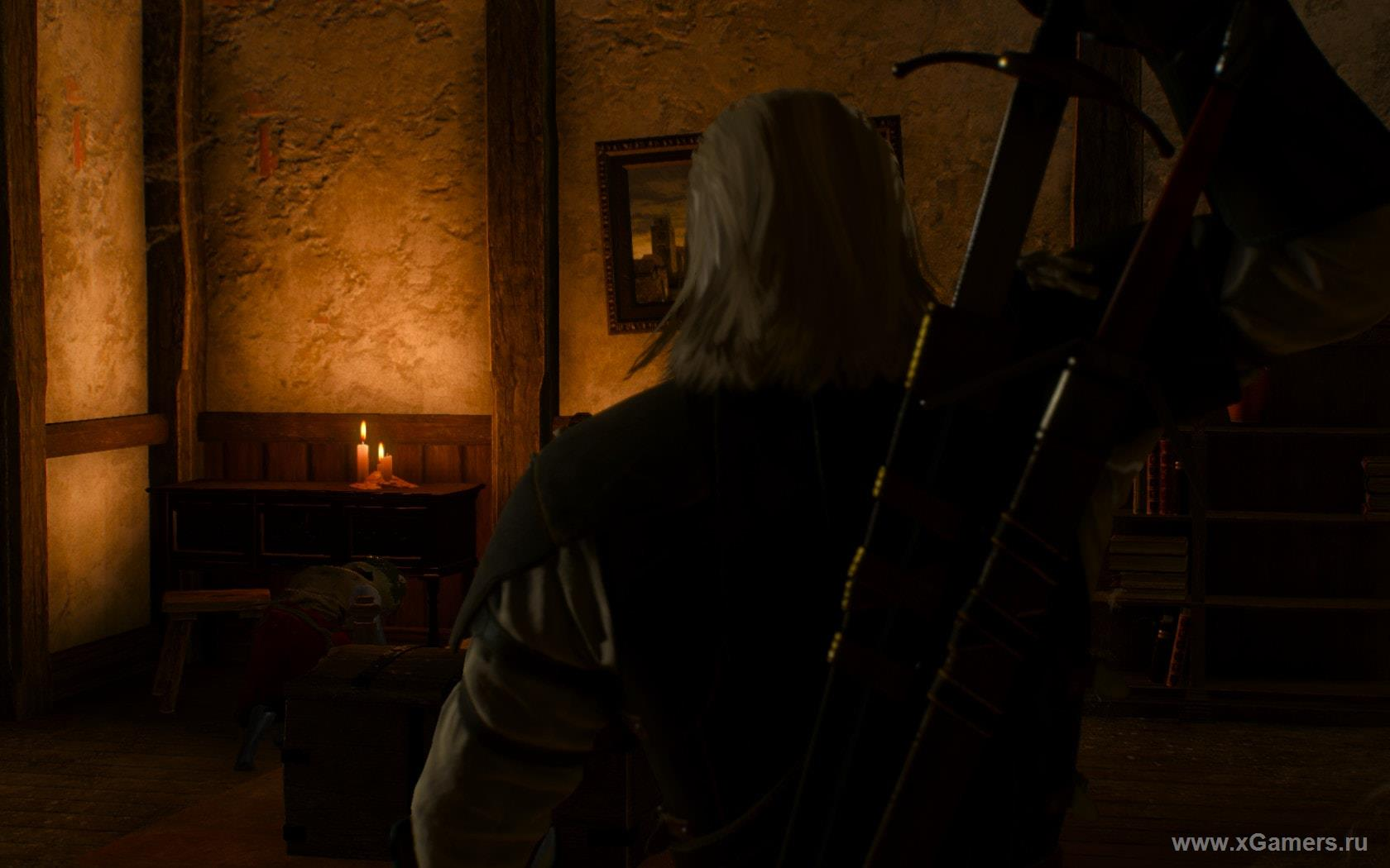 Walkthrough the quest: Through time and space in The Witcher 3