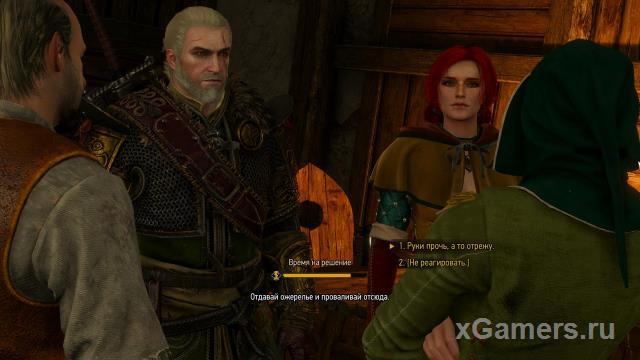 Now or Never Witcher 3 | Walkthrough | Choices and consequences