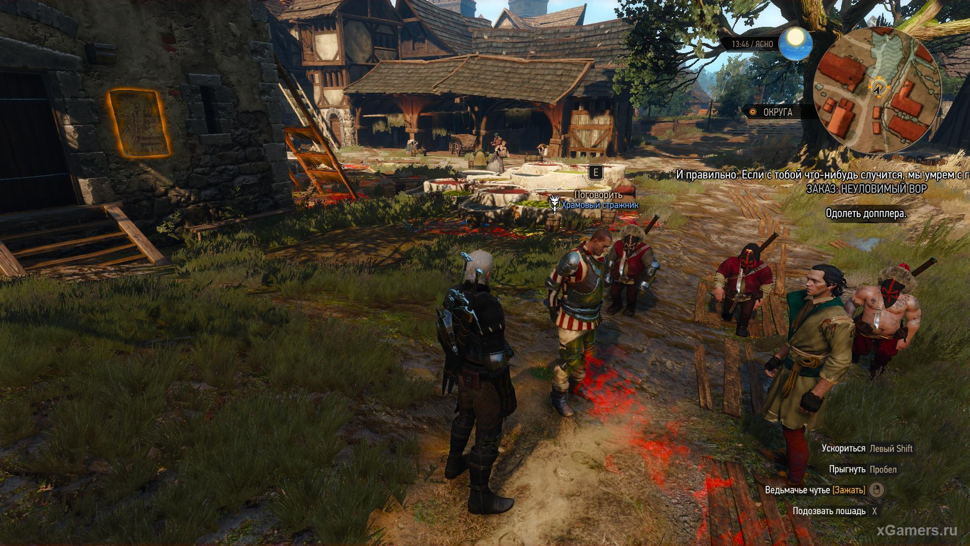 An Elusive Thief The Witcher 3 - Doppler Search