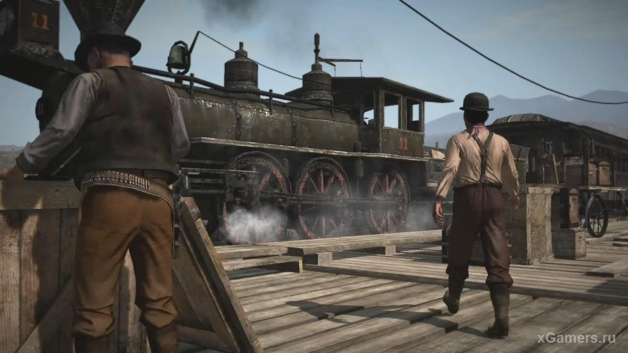 Rdr 2 - Train robberies