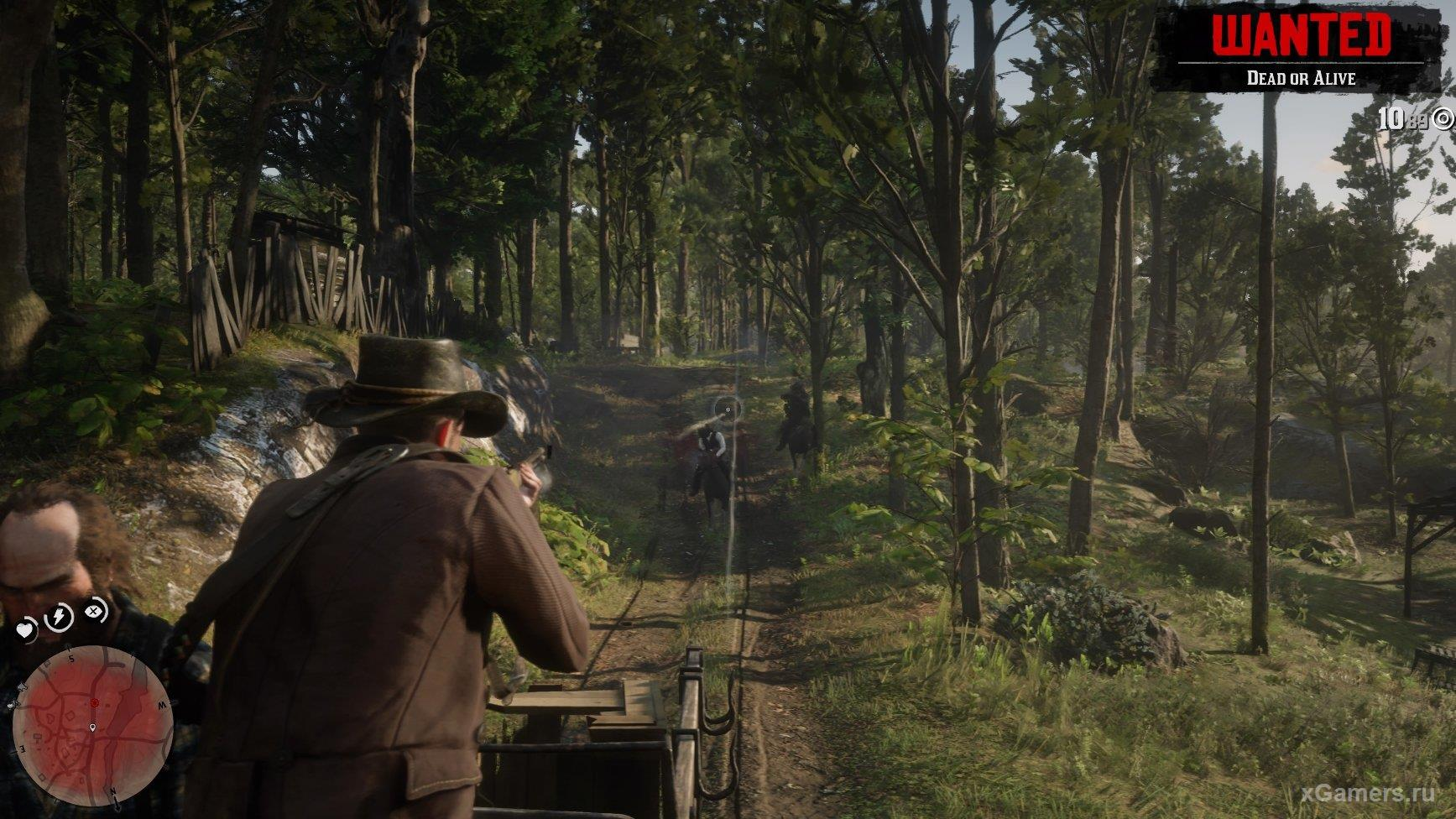 Source of income - bounty hunting RDR 2
