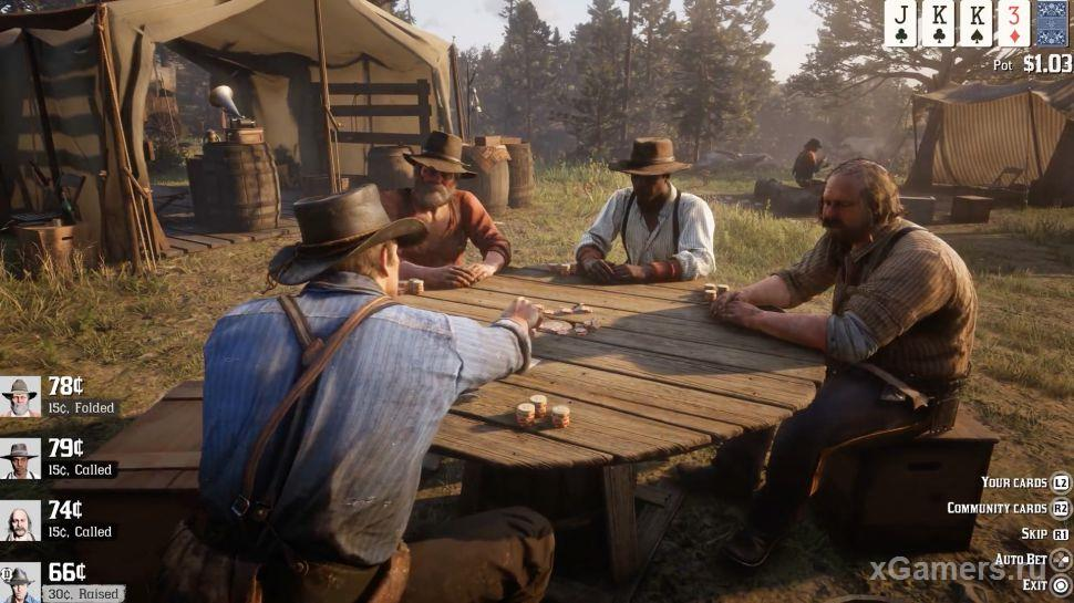 Games in the game RdR 2