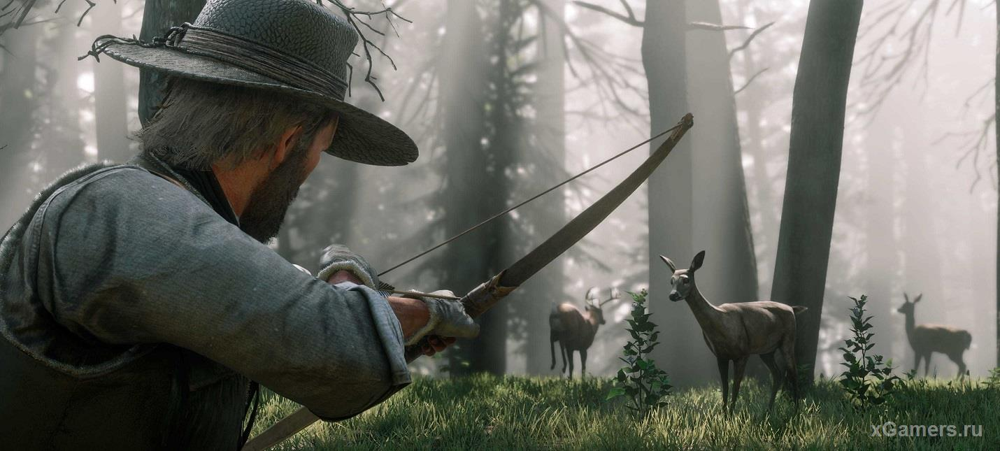 A deer hunt that would strengthen the relationship between Arthur and his comrades